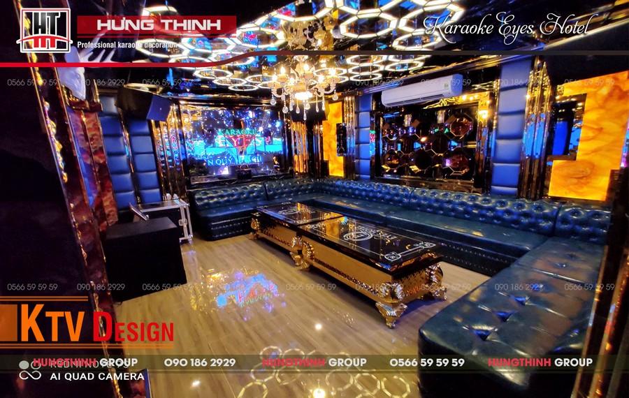 Phòng karaoke Vip 01 tại Eyes Hotel