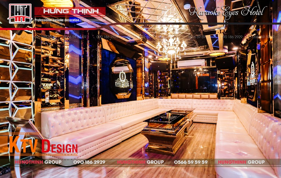 Phòng karaoke Vip 02 tại Eyes Hotel