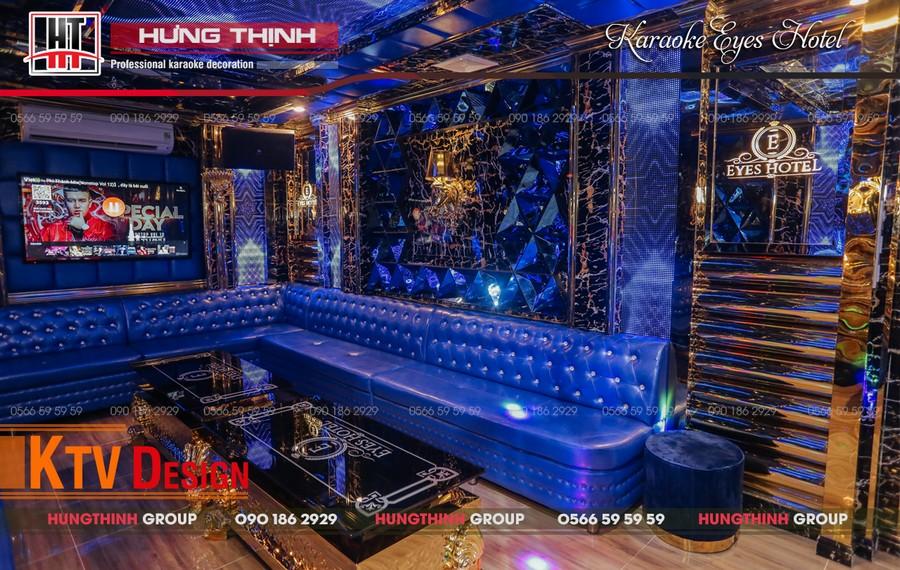 Phòng karaoke Vip 04 tại Eyes Hotel