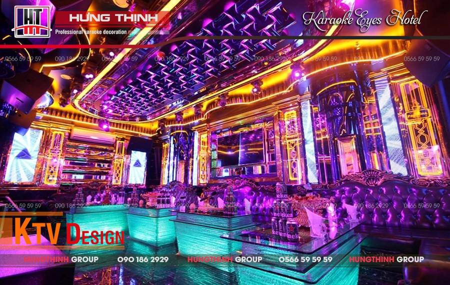 Phòng karaoke Vip 09 tại Eyes Hotel