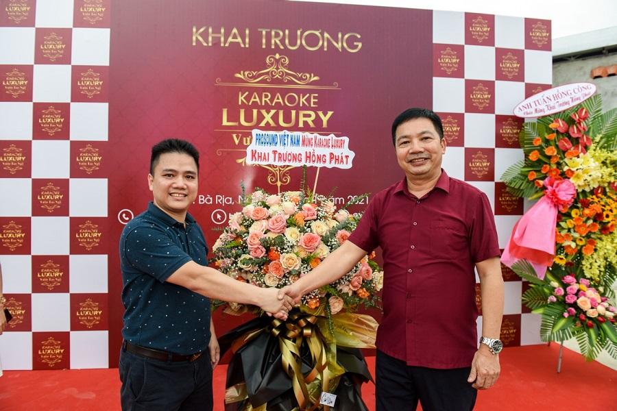 Pro Sound chúc mừng khai trương luxury