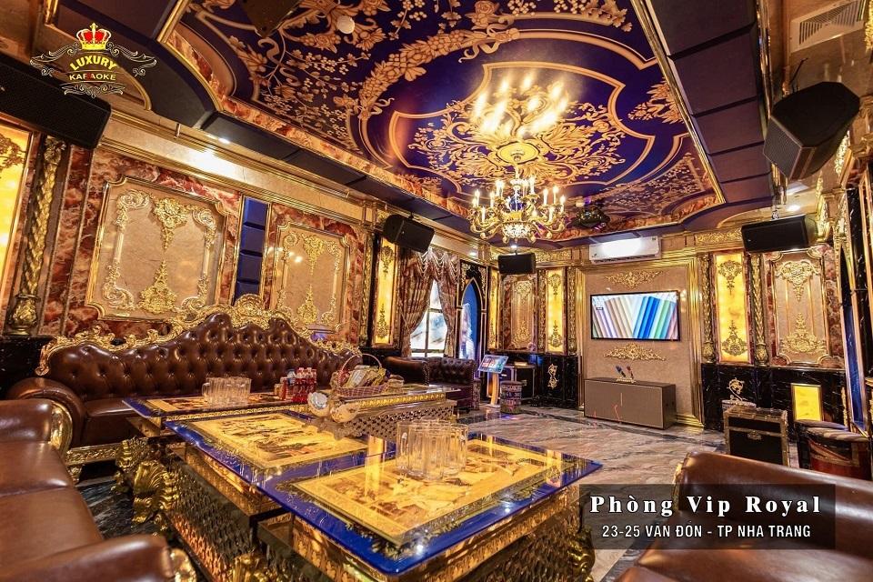 Phòng Vip Royal Karaoke Luxury