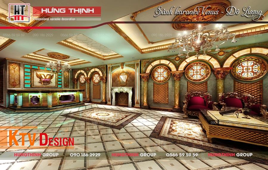 Sảnh karaoke Venus Đô Lương