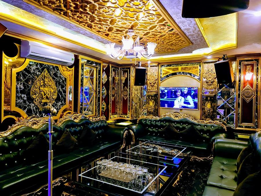 Phòng karaoke Nốt Nhạc Vui tại Venus Đô Lương
