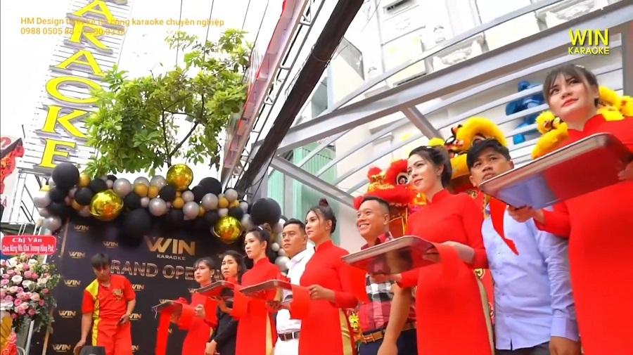 Khai trương karaoke Win 958 Nguyễn Ảnh Thủ
