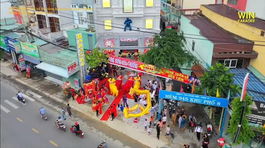 Khai trương karaoke Win 958 Nguyễn Ảnh Thủ, quận 12