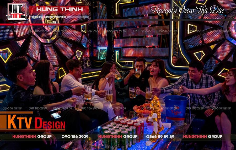 Phòng hát Vip 05 tại karaoke Oscar