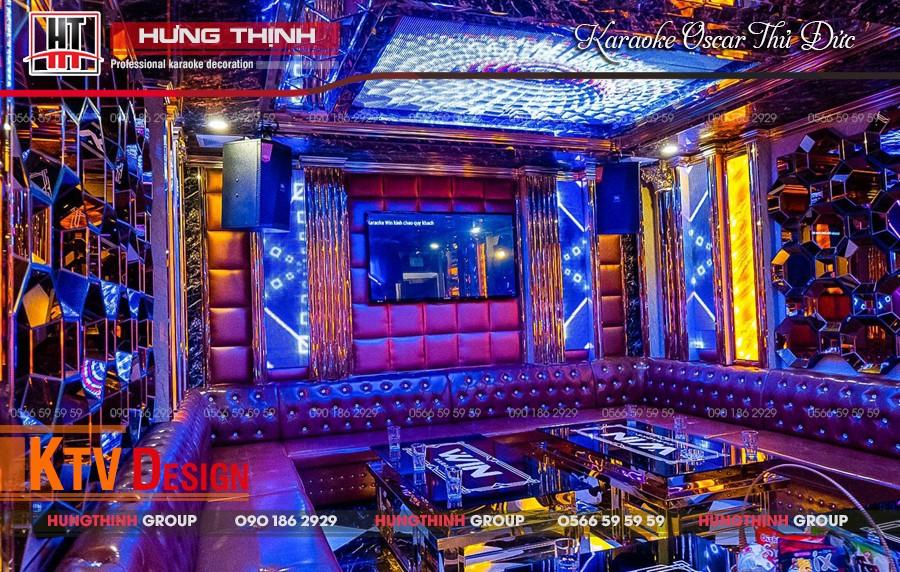 Hình ảnh nội thất Vip 06 karaoke Oscar