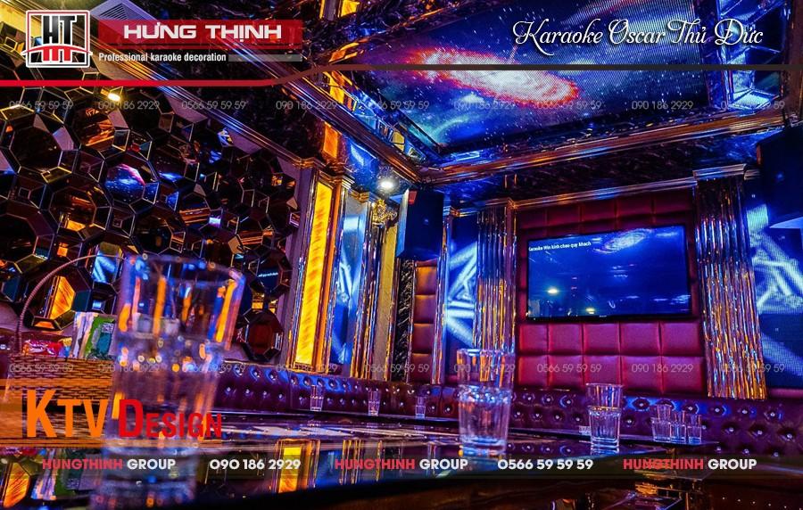 Phòng Vip 06 karaoke Oscar Thủ Đức