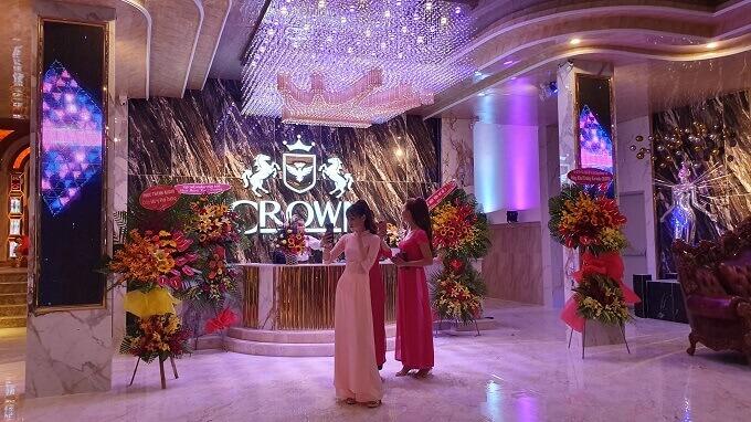 Khai trương karaoke Crown vip nhất Nha Trang