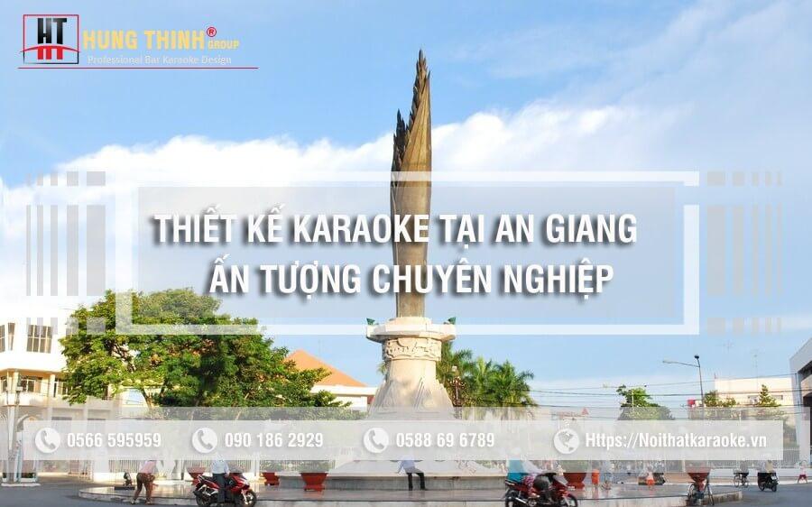 thiết kế thi công karaoke tại An Giang