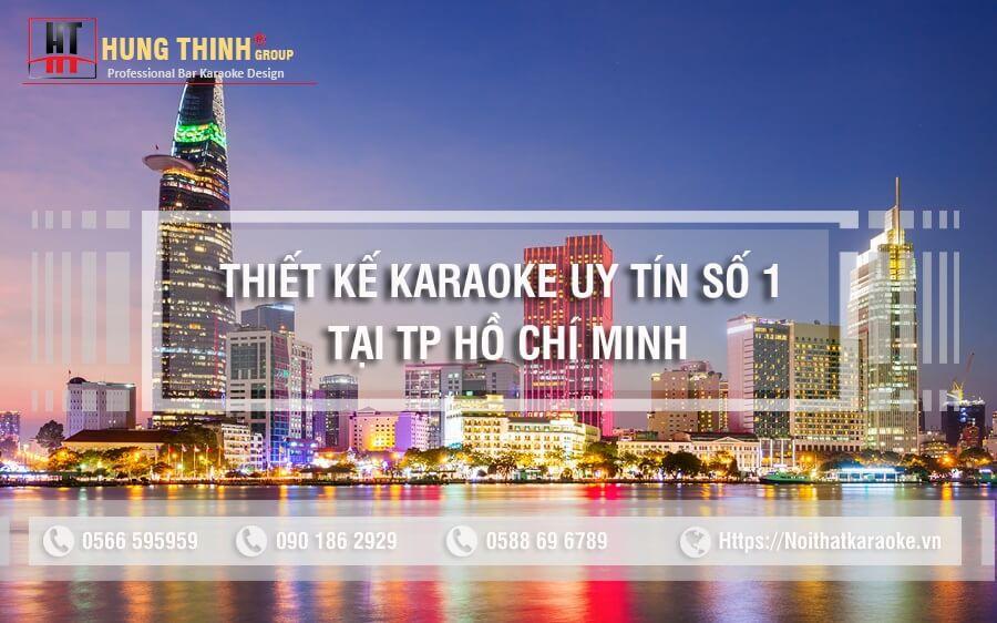 Thiết kế karaoke chuyên nghiệp tại tp hcm