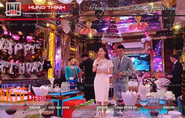 Tổ chức tiệc sinh nhật tại quán karaoke