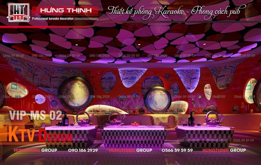 Đổi mới trong tư duy thiết kế karaoke