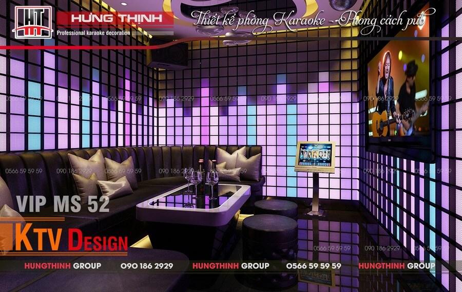 Phòng karaoke ý tưởng Aqualizer Media đạt tiêu chuẩn