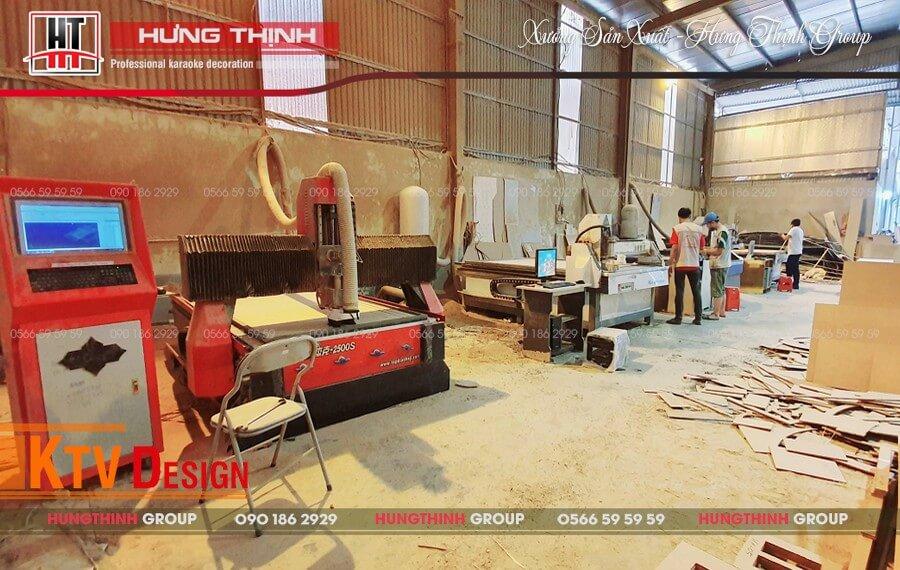 Hệ thống máy CNC tại Hưng Thịnh Group