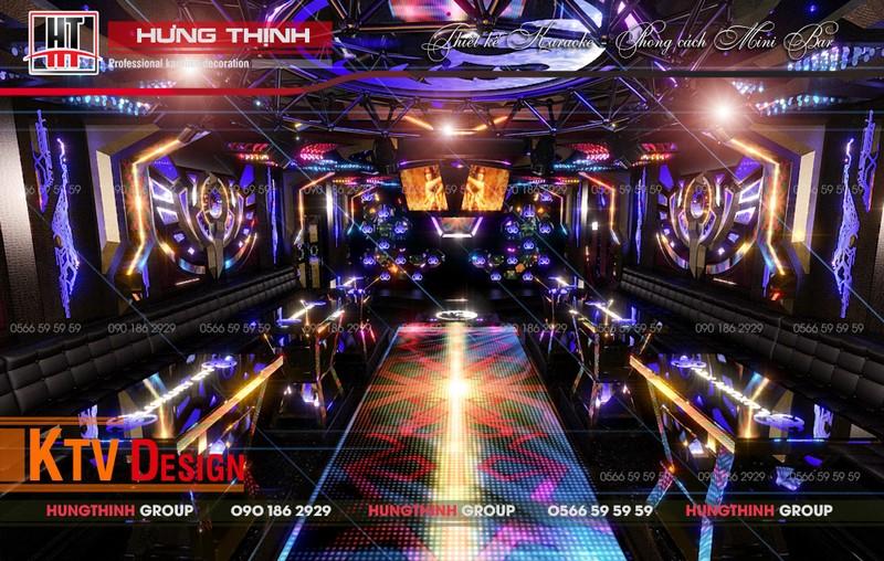chi phí thêm cho phòng karaoke mini bar