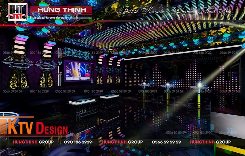 chi phí đầu tư phòng karaoke mini bar
