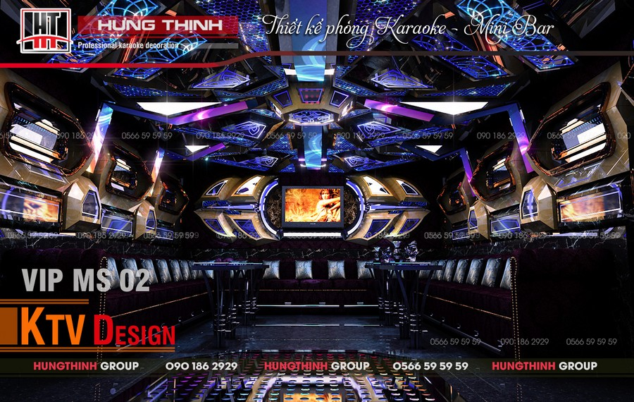 Phòng karaoke Vip 09 tại Paradise