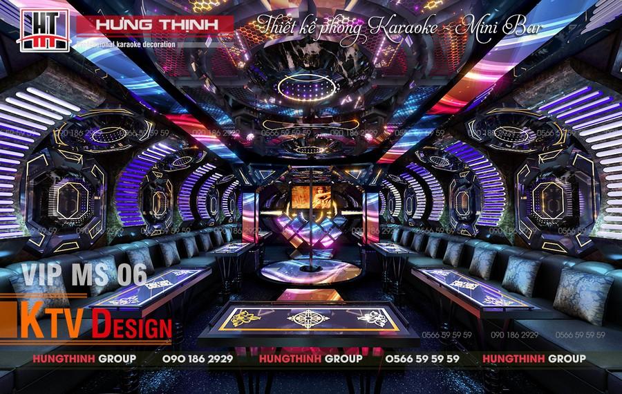 Phòng karaoke hiện đại đẳng cấp MS 06