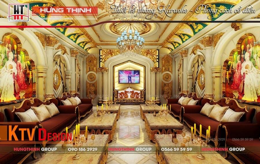 Phòng karaoke cổ điển đẳng cấp nhất để kinh doanh thành công