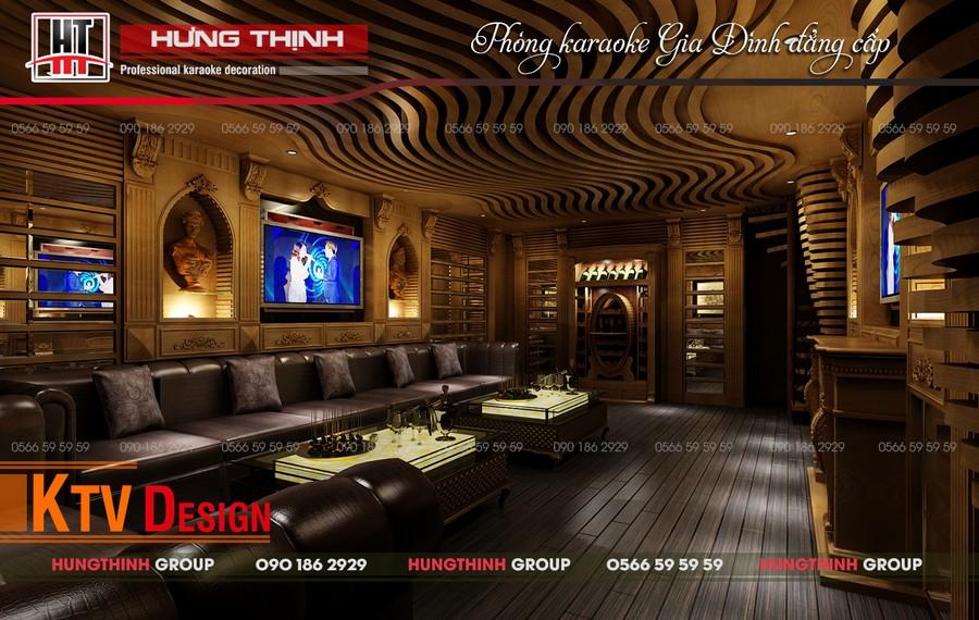 Phòng hát gia đình nhà anh Sơn, Gò Vấp