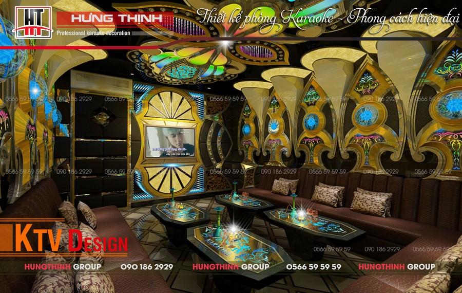 Phòng karaoke Vip 01 tại Paradise