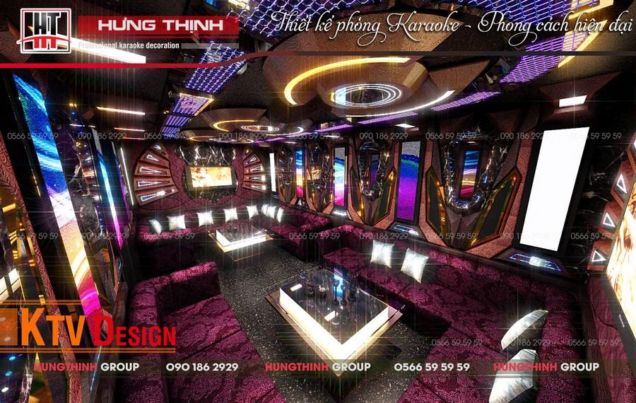 Phòng karaoke Vip 03 tại Paradise