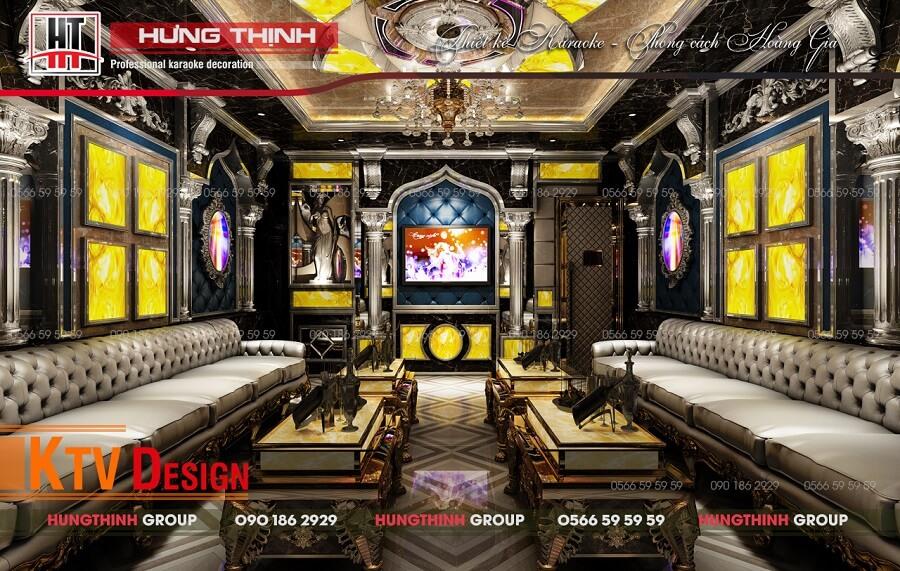 Hưng Thịnh khẳng định tính đột phá kiến trúc trong từng bản vẽ thiết kế karaoke