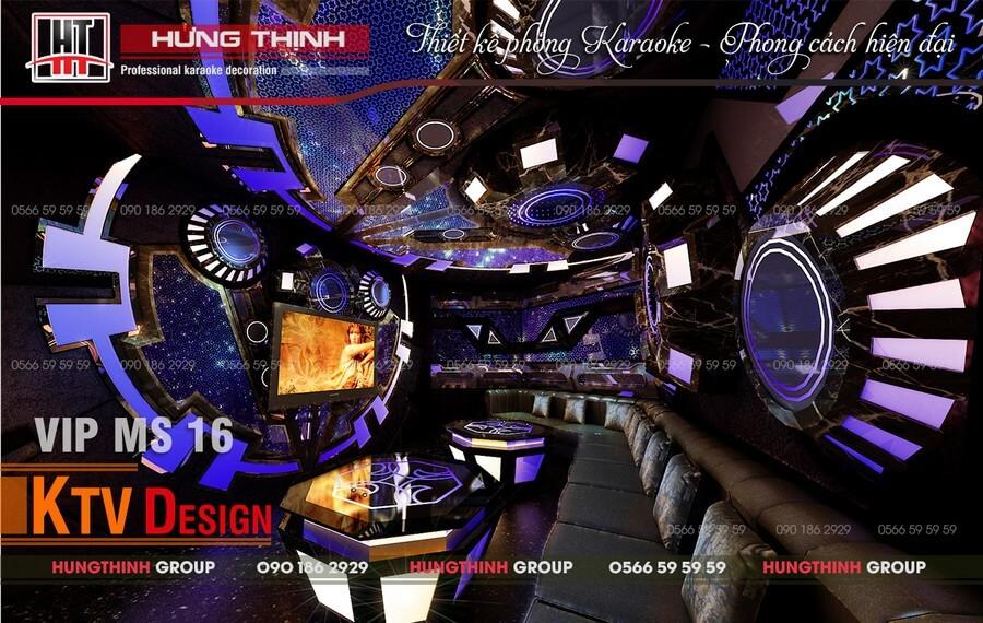 Phòng Vip 02 tại karaoke X Men Việt Trì