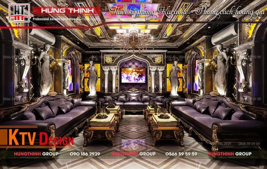 mẫu phòng karaoke Hoàng Gia 01