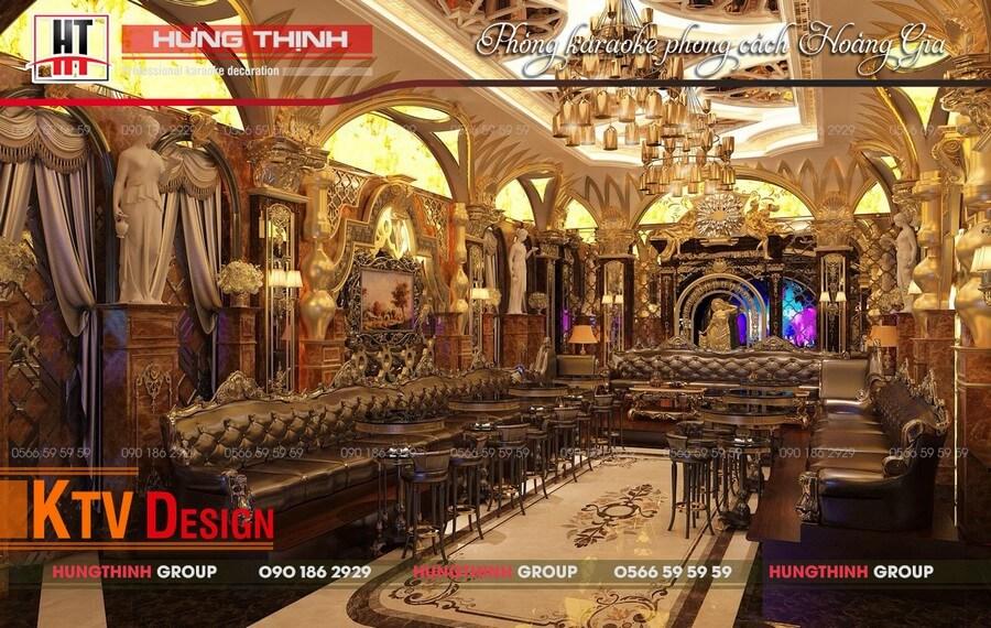 mẫu phòng karaoke Hoàng Gia 04