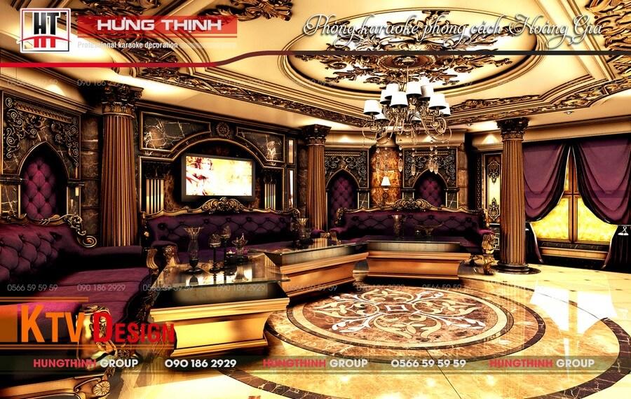 mẫu phòng karaoke Hoàng Gia 03