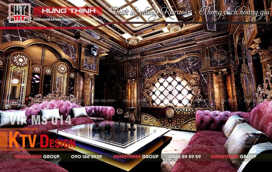 Mẫu phòng hát đẹp tại Tây Ninh