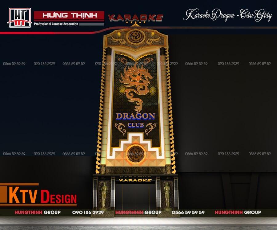 Mặt tiền karaoke Dragon