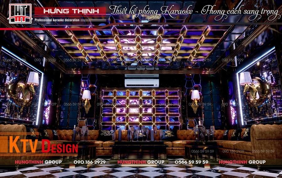 Phòng 05 Vip karaoke Huỳnh TP Cà Mau