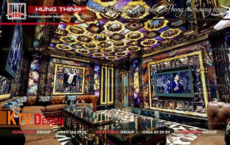 Mẫu phòng karaoke đẳng cấp do Hưng Thịnh thiết kế
