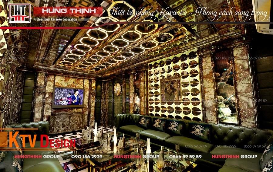 Phòng karaoke Vip 11 tại Eyes Hotel