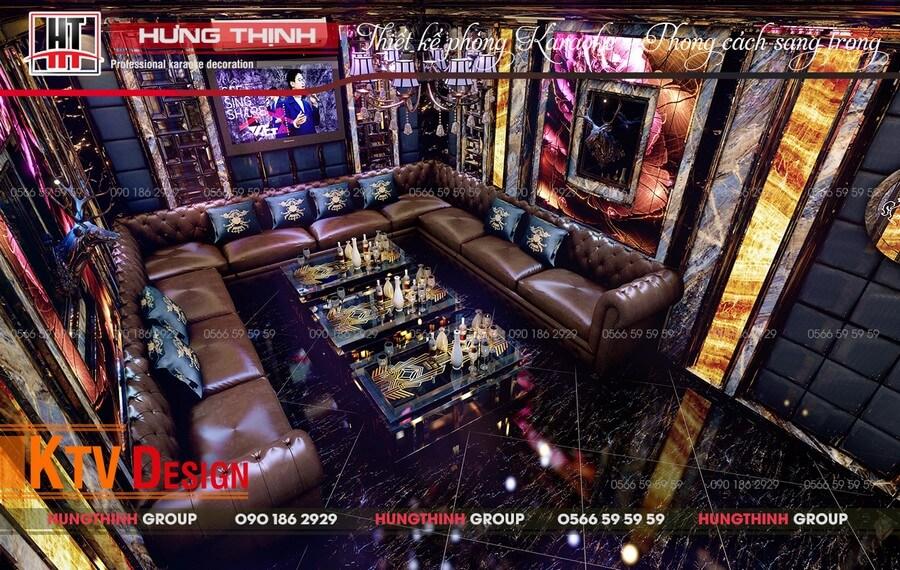 Phòng vip 06 tại karaoke Deluxe