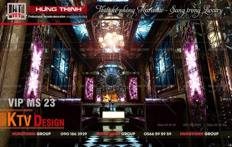Phòng karaoke kinh doanh đẳng cấp với diện tích chỉ 20 m2 sàn