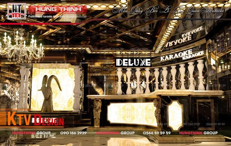 Sảnh quầy bar karaoke Deluxe