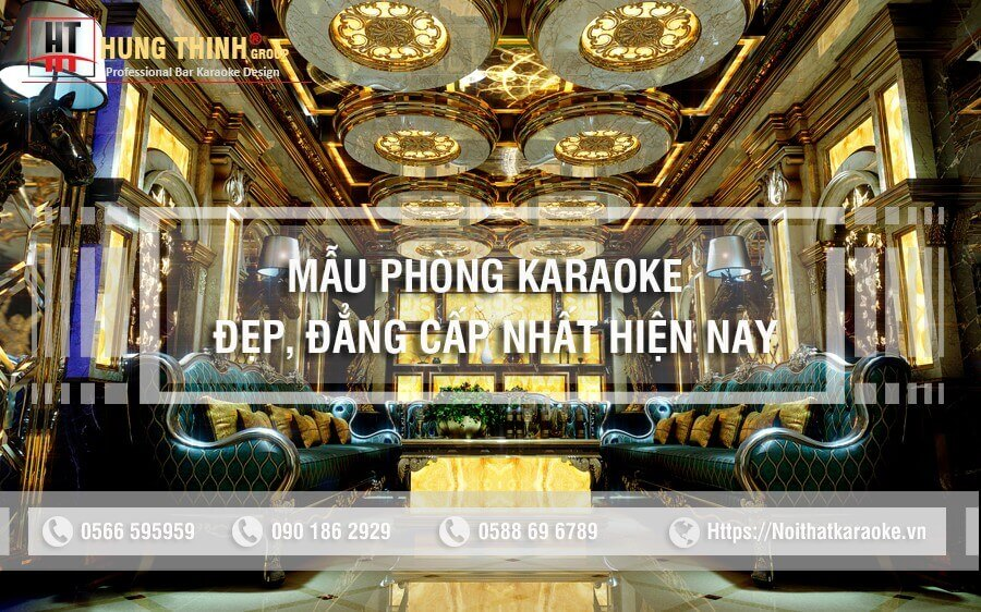 Mẫu phòng karaoke đẹp đẳng cấp nhất năm 2020