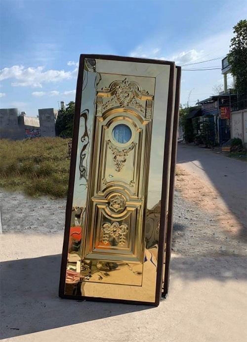Mẫu cửa inox karaoke MSVN 003