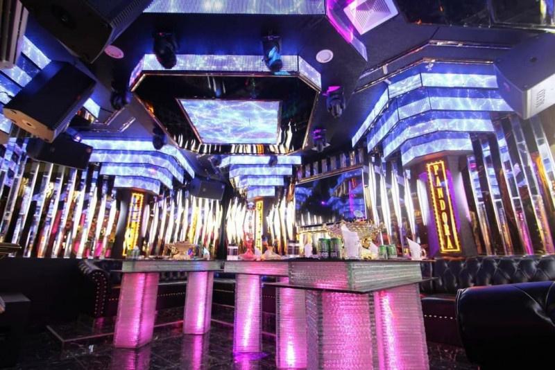 Phòng karaoke phong cách Bar