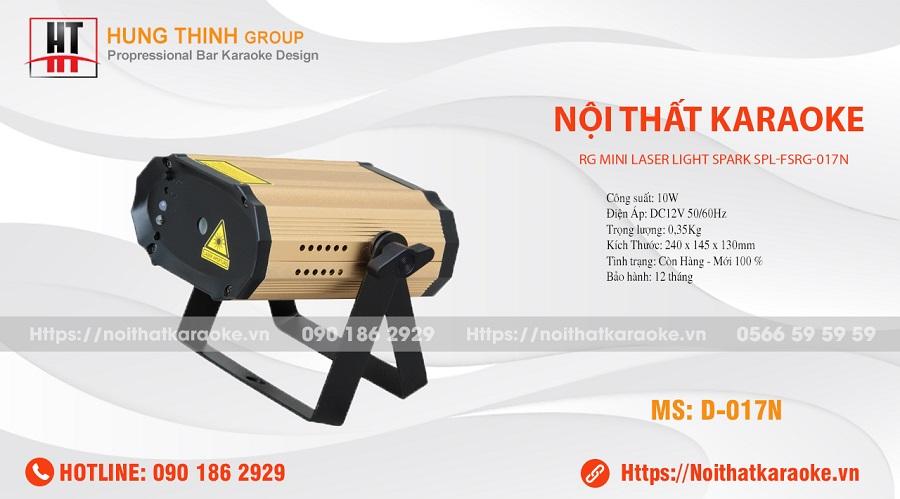 Đèn laser mini karaoke RG017N