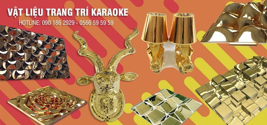 Vật liệu trang trí karaoke